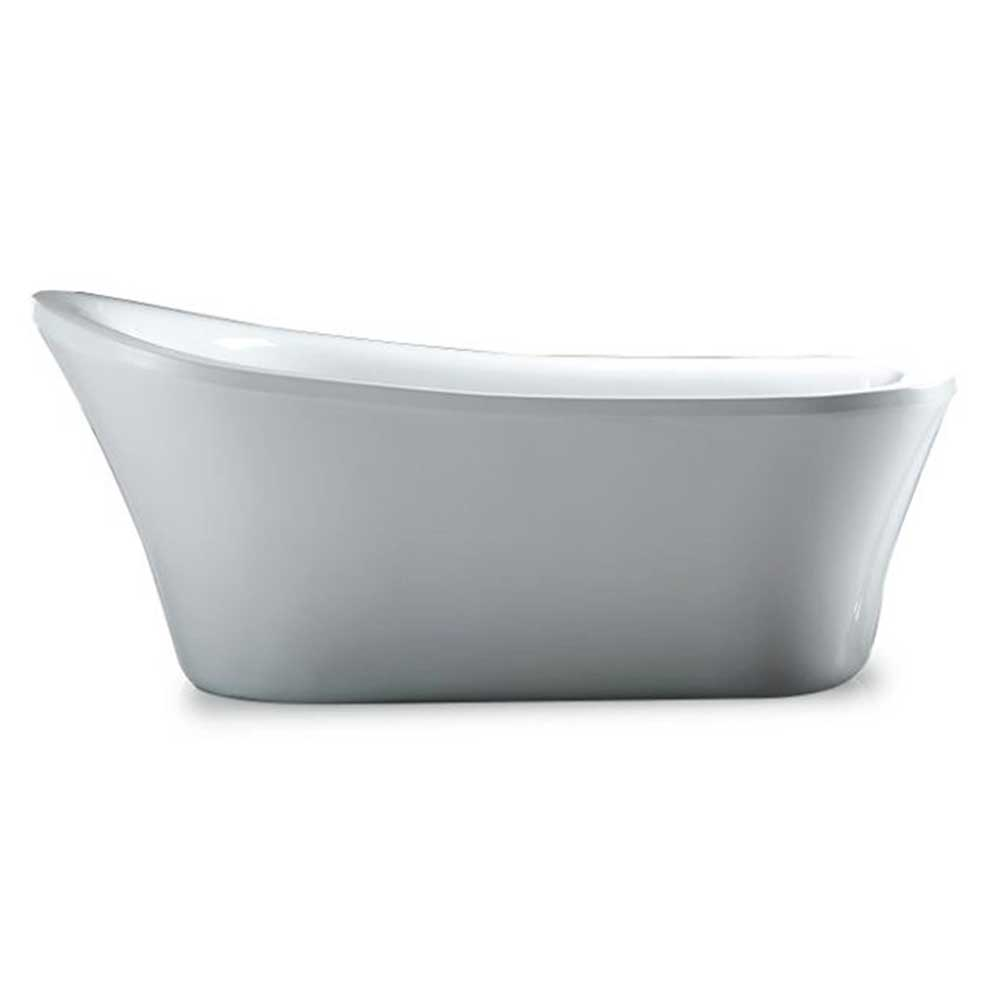 Best bathtubs 2018 freestanding drop in walk in and for How long is a standard bathtub