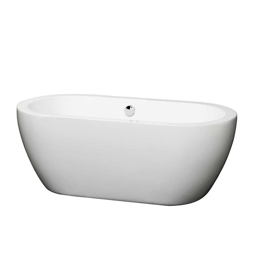 Wyndham Collection Soho 60 Inch Freestanding Bathtub